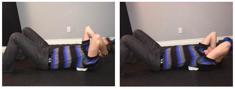 Thoracic mobility exercise